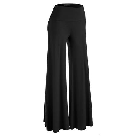 Brown Pants (MBJ Womens Chic Palazzo Lounge)