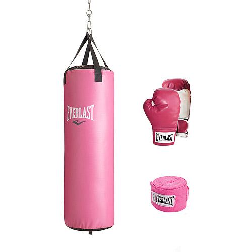 Everlast 70 lb Women's Heavy Bag Kit