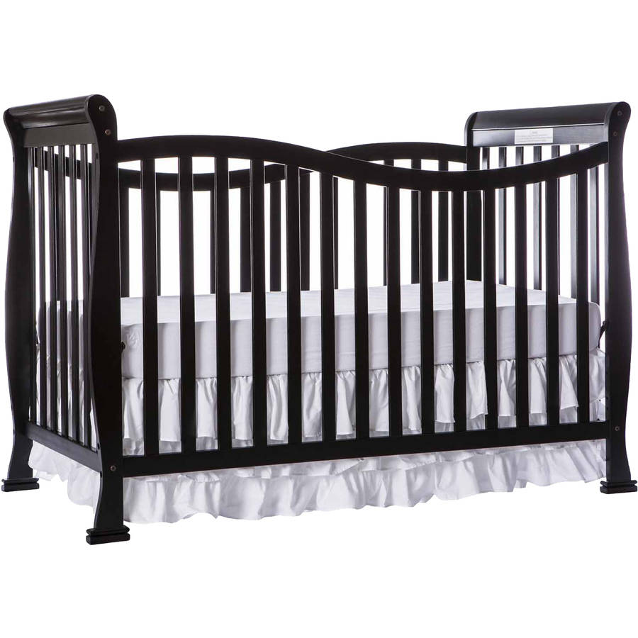 Dream On Me Violet 7-in-1 Convertible Crib Black