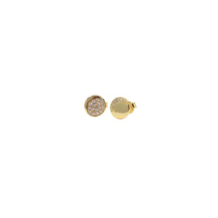 Lowest Price Ever!!! Fashionvare Women's 925 Sterling Silver Sparkling Moon Phase Stud Earrings - Gold
