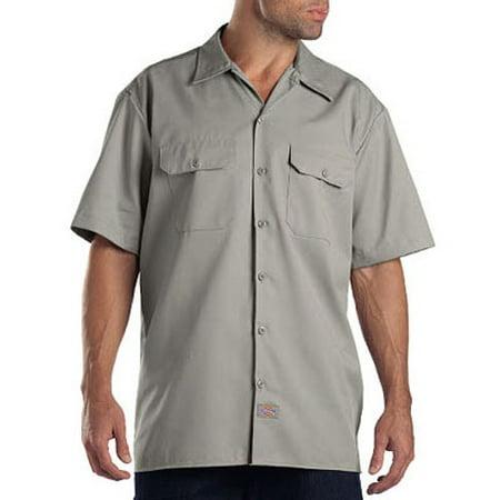 Big Men's Short Sleeve Work Shirt