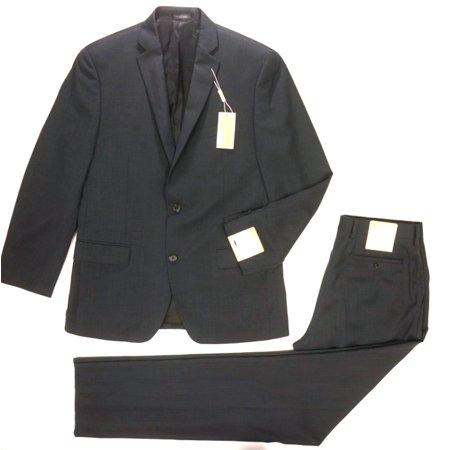 971e874404f New MICHAEL Michael Kors Charcoal 2 Piece Kels3 Birdseye Wool 2 Button Suit  40R - Walmart.com