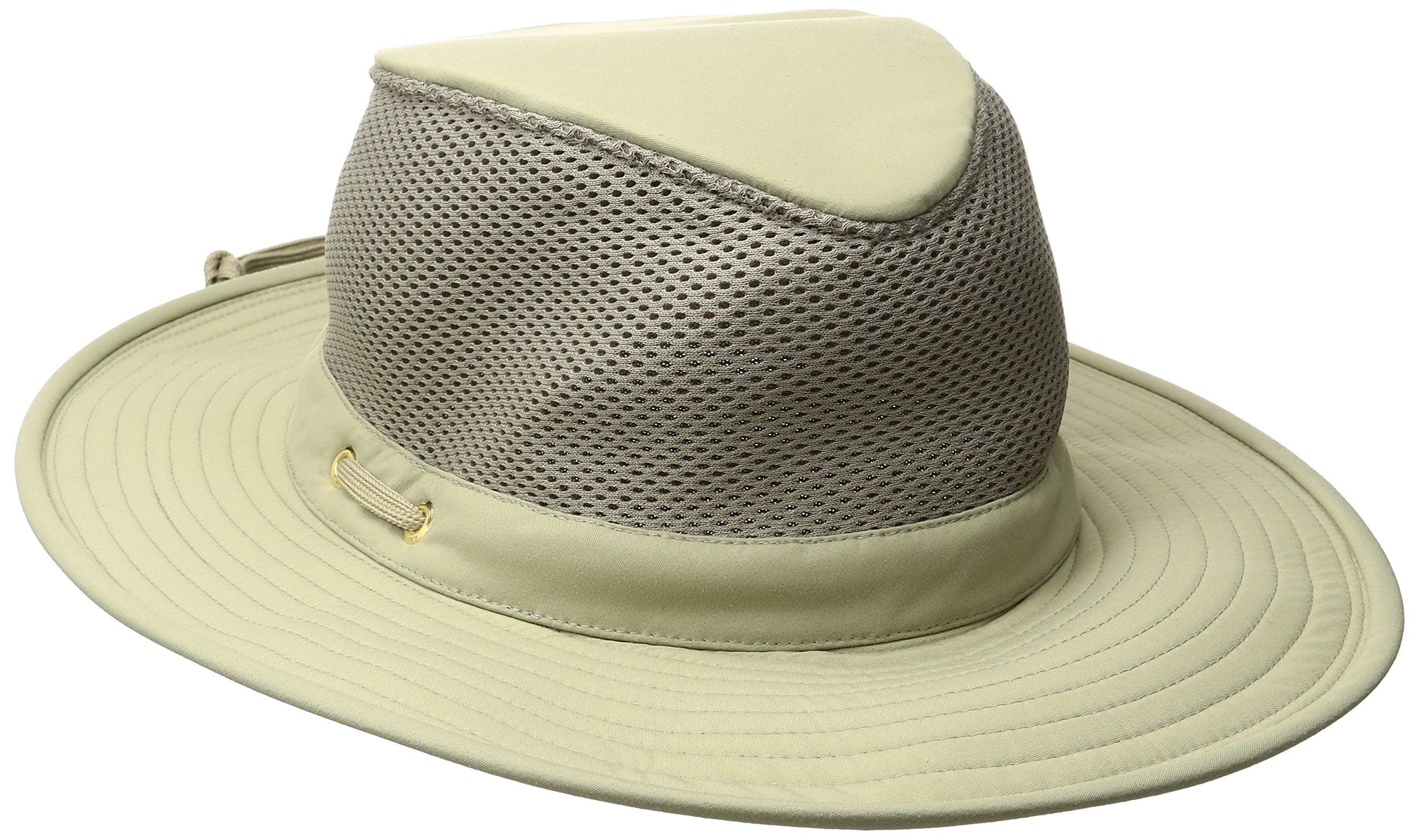 2932623e7 tilley endurables ltm8 nylamtium hat with mesh - khaki - 7 3/8