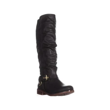 XOXO Mauricia Tall Riding Boots, Black - image 6 de 6