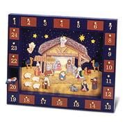 "Kurt Adler 16.75"" Nativity Advent Calendar, 25 Pieces"