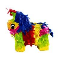 """Extra Mini Donkey Party Pinata, 8"""" Pinata, Traditionally Handcrafted"""
