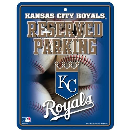 Kansas City Royals Metal Parking Sign