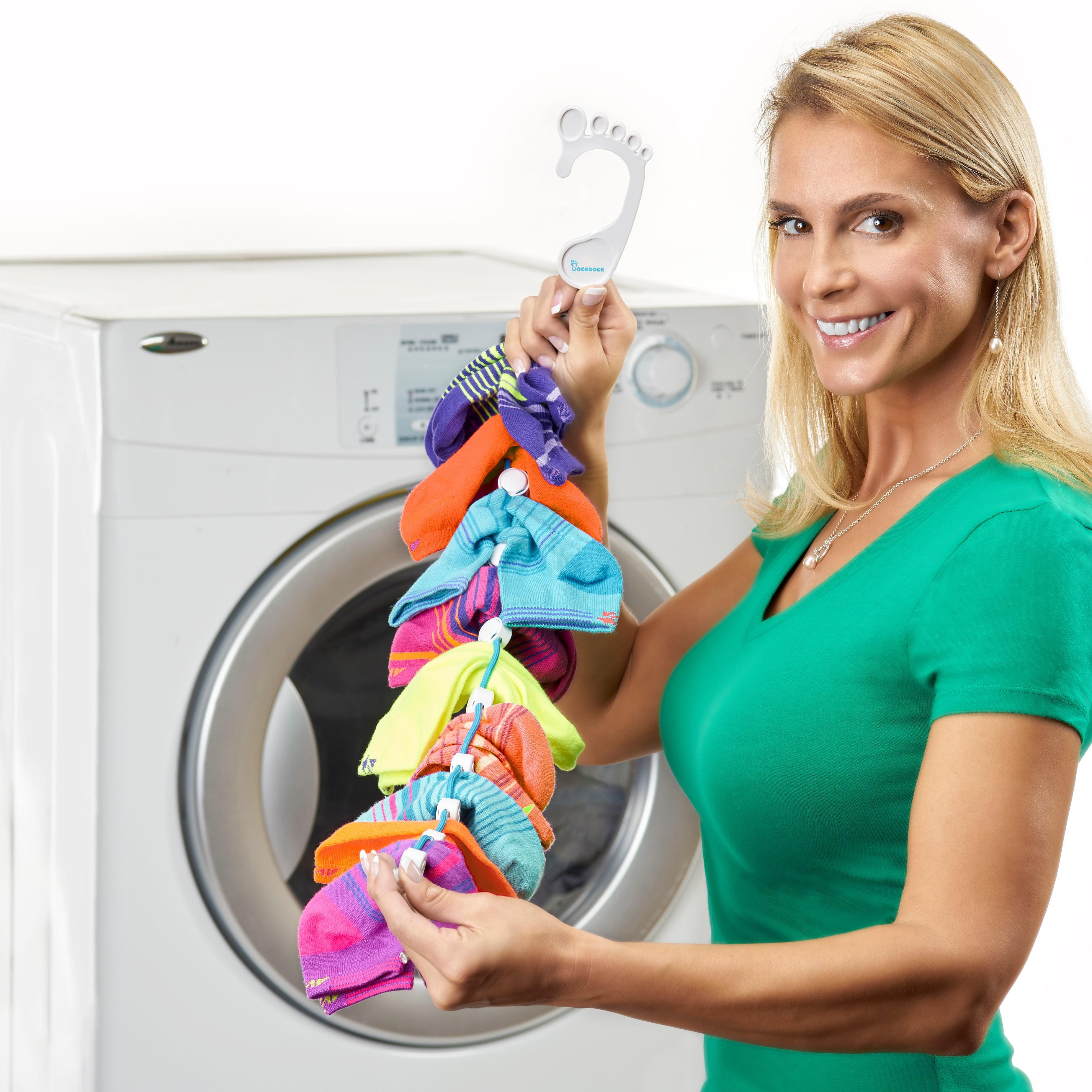 SockDock Sock Laundry Tool