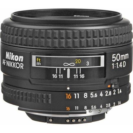 Nikon AF NIKKOR 50mm f/1.4D Lens (Best 50mm Lens For Nikon D800)