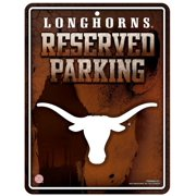 Texas Longhorns Metal Parking Sign