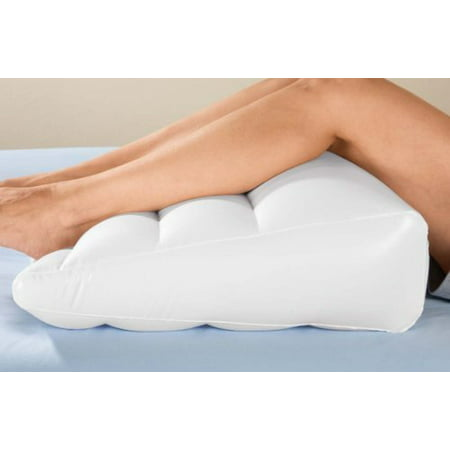 NEW Inflatable Bed Wedge Air Head Leg Foot Elevation Pillow Edge Portable Travel Sleeping Rest (Inflatable Lego)