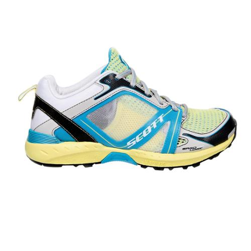 Scott Aztec II Running Shoes Women's 10.5/42 Limelight/Ocean