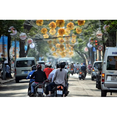 LAMINATED POSTER Siagon Chi Ho Vietnamese City Vietnam Minh Poster Print 24 x 36 (Pictures Of Chi)
