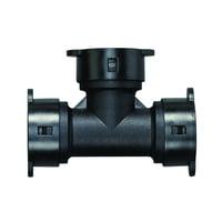 "Orbit 1/2"" Push Lock Tee for Drip Irrigation Systems (.690-.710 O.D.)"