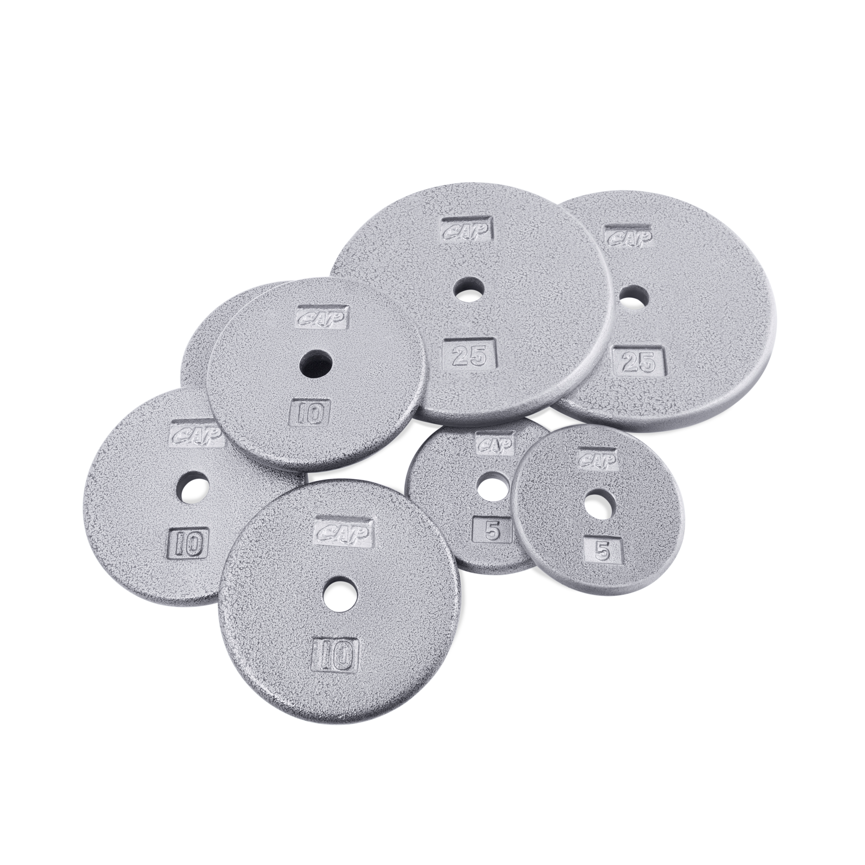CAP Barbell 100-Pound Standard Plate Set by Cap Barbell