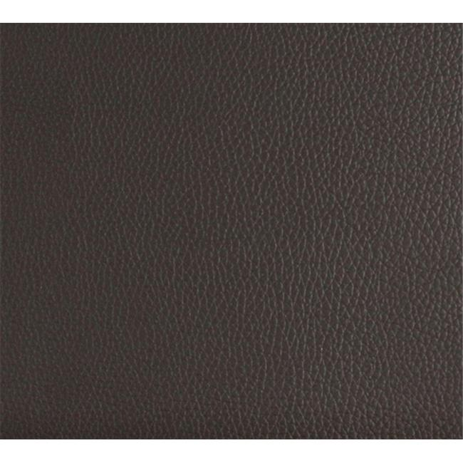 Designer Fabrics G649 54 in. Wide Brown, Bison Pronounced Leather Grain Upholstery Grade Recycled Leather