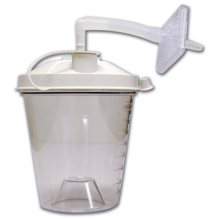 Image of Drive Medical Disposable Suction Canisters, 800CC, Pack of 12