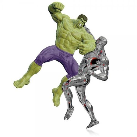 Marvel - Avengers: Age of Ultron - The Hulk vs. Ultron Ornament 2015 Hallmark - Avengers Ornaments