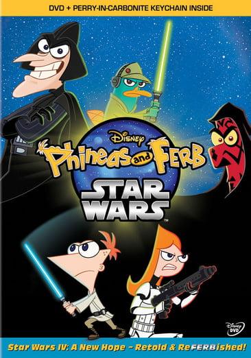 Disney Phineas & Ferb: Star Wars (DVD) by Buena Vista