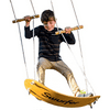 Swurfer The Original Stand Up Surfing Swing, Wooden Outdoor Swing for Kids and Adults