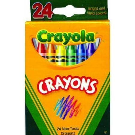 buy bulk crayola crayons 24 count box case of 48 walmart com