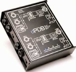 Art dPDB Dual Passive Direct Box by Yorkville