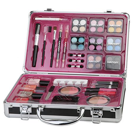 Ivation Professional Vanity Case Cosmetic Make Up Ivation