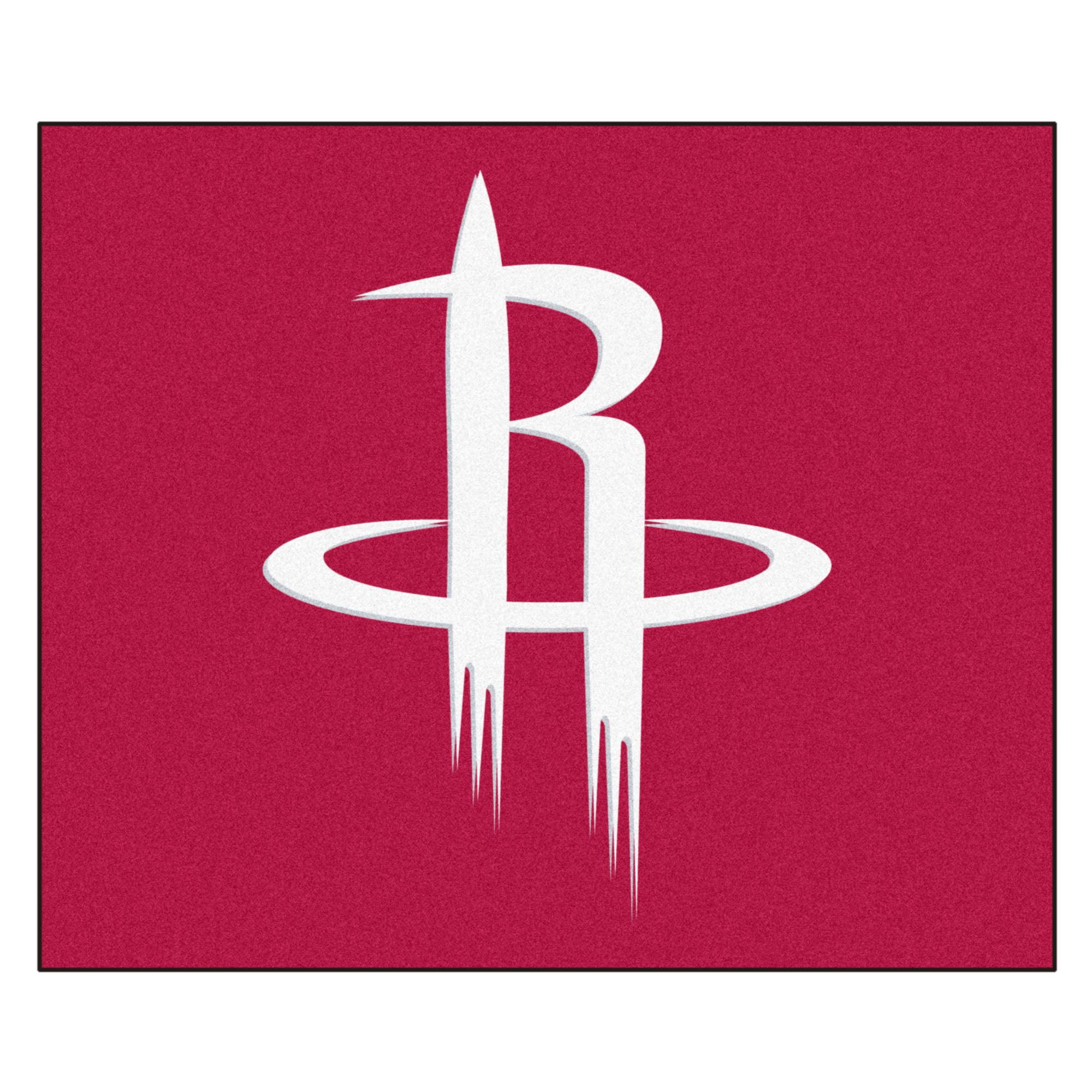 NBA Houston Rockets Tailgater Mat Rectangular Outdoor Area Rug