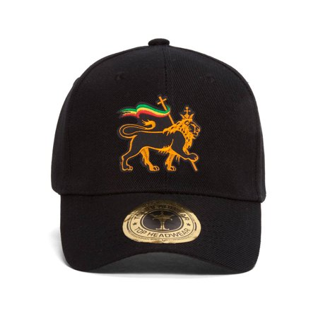 - Rasta Lion of Judah Adjustable Baseball Hat