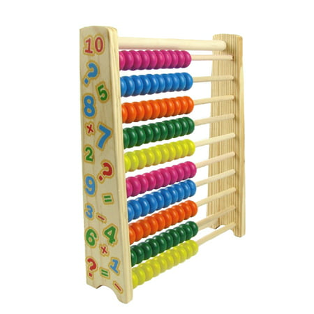 Wooden Abacus Kids Toys Math Tool Computing Calculator Math Learning Teaching Tool