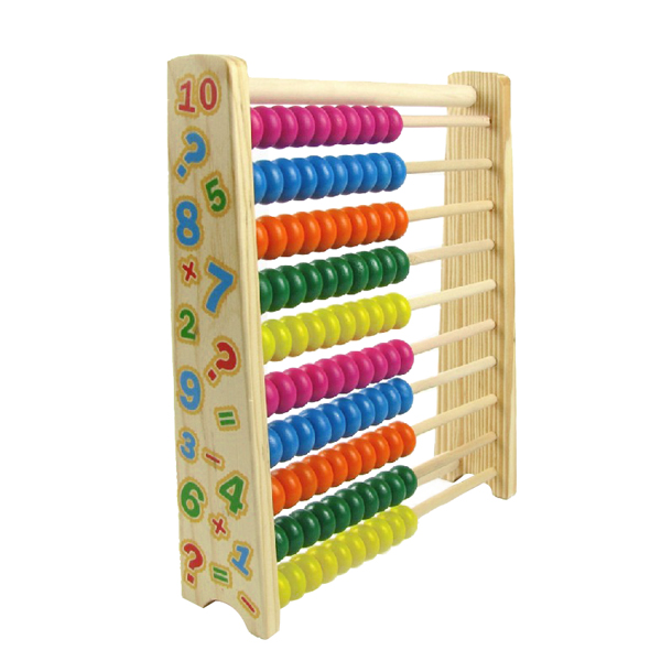 Wooden Abacus Kids Toys Math Tool Computing Calculator Math Learning Teaching Tool Gifts