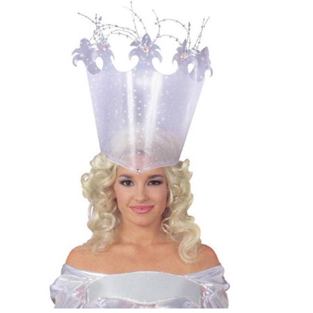 Good Fairy Crown Headpiece Wizard of Oz Hat Princess Plastic Costume - Do It Yourself Clown Costume