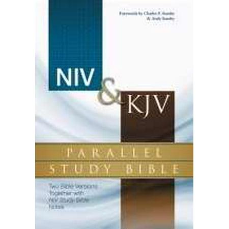 NIV & KJV Parallel Study Bible-Hardcover