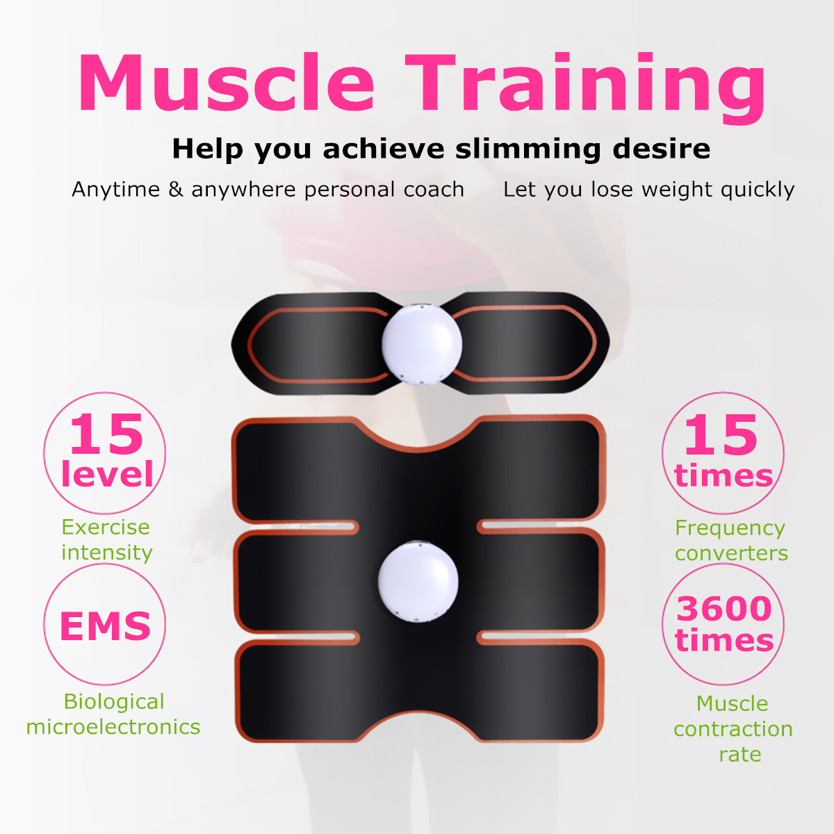 Abdominal Muscle Toner Body Toning Fitness Training Gear ...