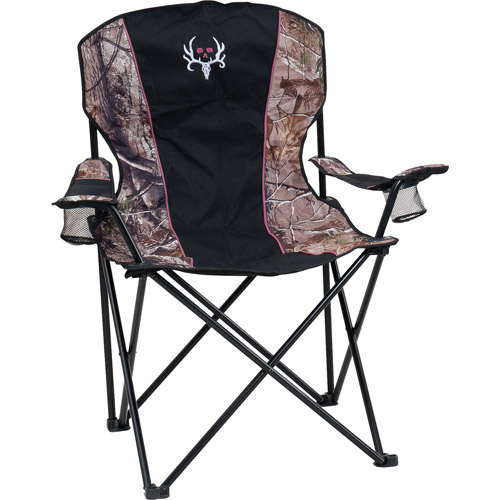 Bone Collector Women's Premier Chair- RTX/Pink