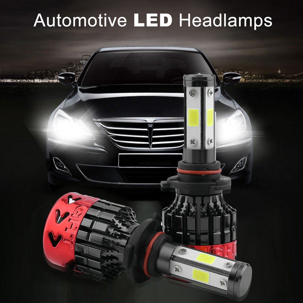 Headlamp 2 Pcs Led Headlight Kit 980w Fog Bulbs Super Bright