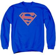 Supergirl Logo Mens Crew Neck Sweatshirt
