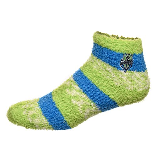 Seattle Sounders Rmc Pro Stripe Sleep Soft Socks (Green)
