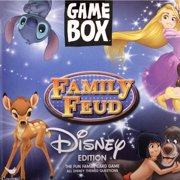 Disney Family Feud Game Box, Multicolor, Your favorite TV show game By Cardinal