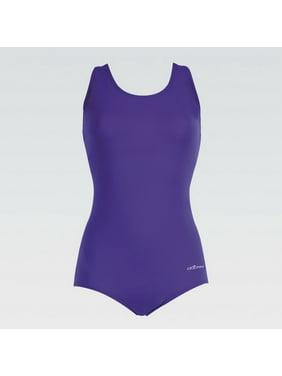 a4b76cfb9b6 Product Image (Price/each)Dolfin 60553F Womens AQUASHAPE Conservative Lap  Suit-Purple-26