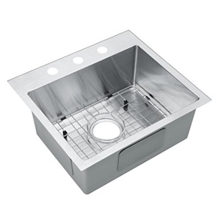 Starstar 19 Inch Top Mount Drop In Stainless Steel Single Bowl Kitchen Sink 16