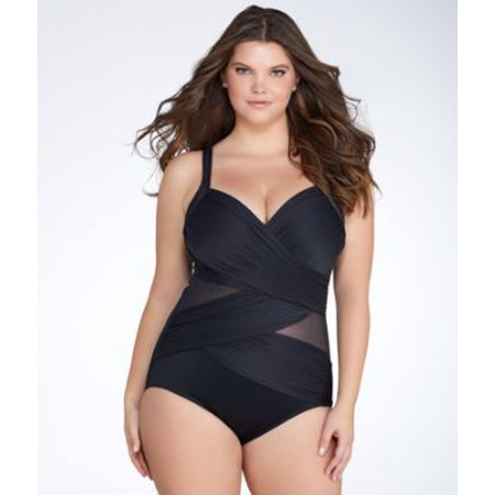 faf1703588538 Miraclesuit - Network Madero One-Piece Plus Size - Walmart.com