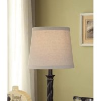 Lamp shades walmart mainstays textured accent lamp shade beige aloadofball Image collections