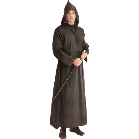 Adults Black Executioner Robe Costume Accessory - Executioner Costumes