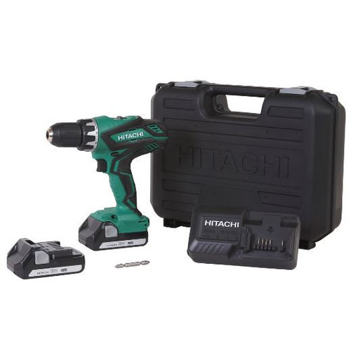 Factory-Reconditioned Hitachi DS18DGL 18V 1.3 Ah Cordless Lithium-Ion 1/2 in. Drill Driver (Refurbished)