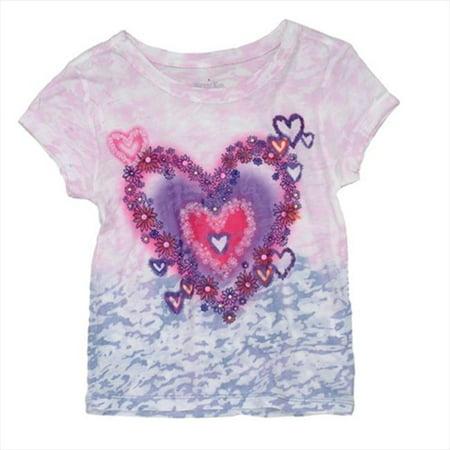 Klever Kids SS13-G84-8 Girls Short Sleeve T-Shirt, 8 Years