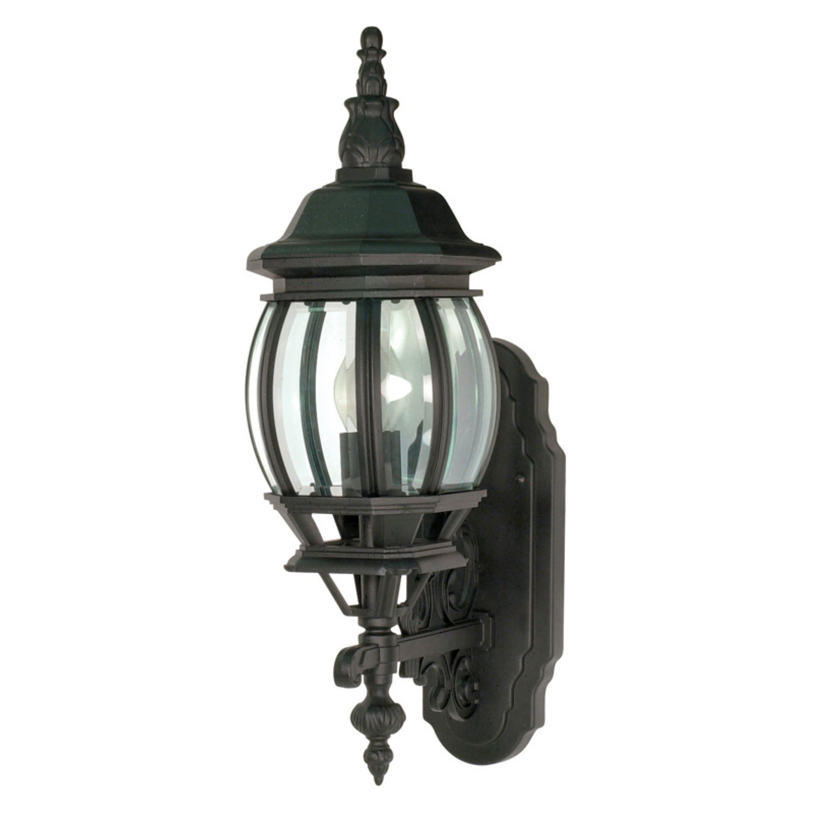 Nuvo Lighting 60/887 Single Light Up Lighting Outdoor Wall Sconce from the Centr