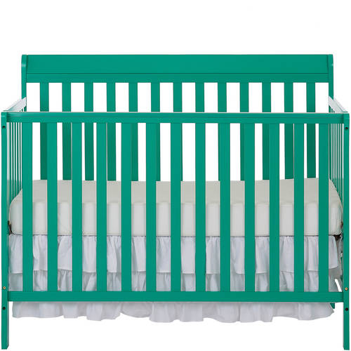 Dream On Me Alissa Convertible 4 in 1 Crib, White by Dream On Me