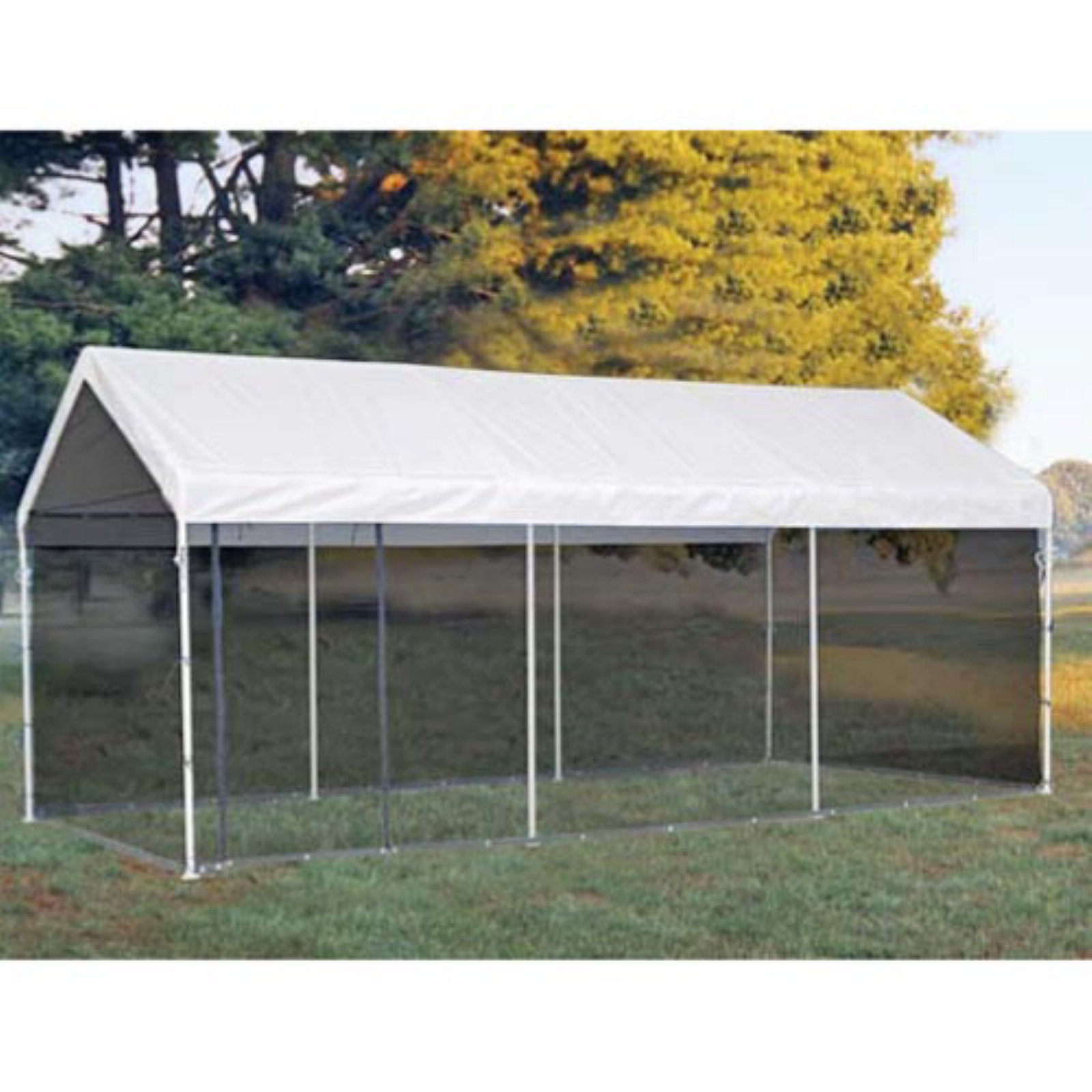 ShelterLogic Max AP 2-in-1 Canopy Pack 10' x 20' with Screen Enclosure Kit