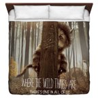 Where The Wild Things Are Wild Thing Tree King Duvet Cover White 104X88